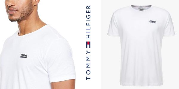 Camiseta de manga corta Tommy Hilfiger Modern Jaspe para hombre chollo en Amazon