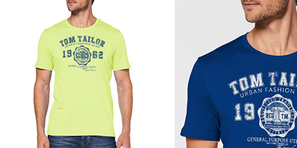 Camiseta Tom Tailor Logo en oferta en Amazon