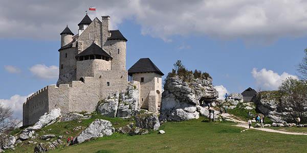 Castillo Bobolice en Polonia