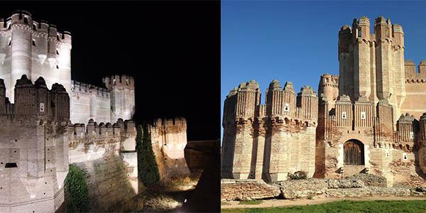 Castillo de Coca Segovia España