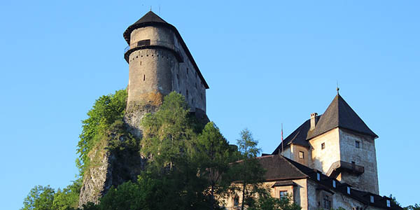 Castillo Orava en Eslovaquia