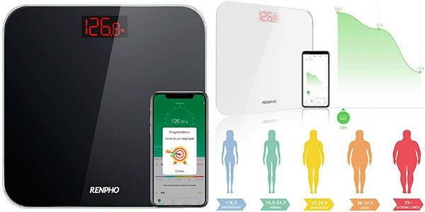 Chollo Báscula de baño Renpho ES-26R Bluetooth de grasa corporal