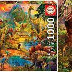 Chollo Puzle Tierra de Dinosaurios de 1.000 piezas