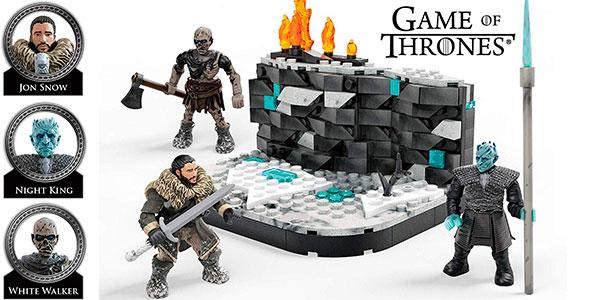 Chollo Set Mega Construx Batalla de los Caminantes Blancos de Game of Thrones