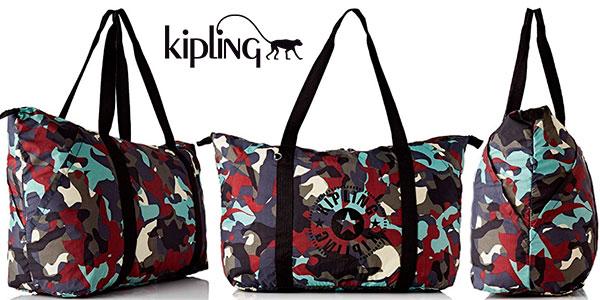 Chollo Bolso de mano Kipling Art Packable de 29 litros