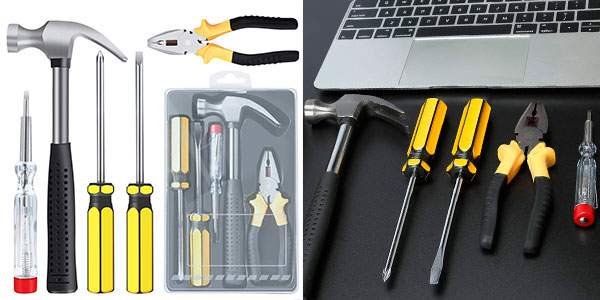 Chollo Kit E-Durable de 5 herramientas para el hogar