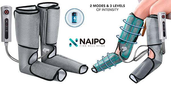 Chollo Masajeador de piernas y pies Naipo con compresión de aire