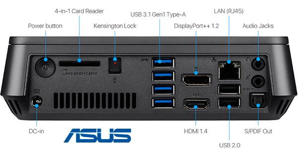 Ordenador de sobremesa Asus VivoMini VM45 con 4 GB RAM y 64 GB SSD barato