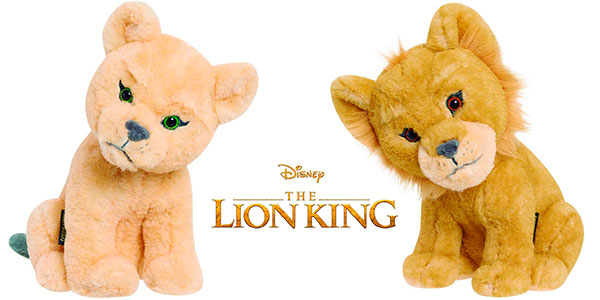Chollo Pack de peluches Simba y Nala de El Rey León