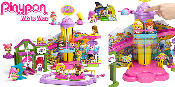 Chollo Parque de Atracciones de Pinypon con una minifigura