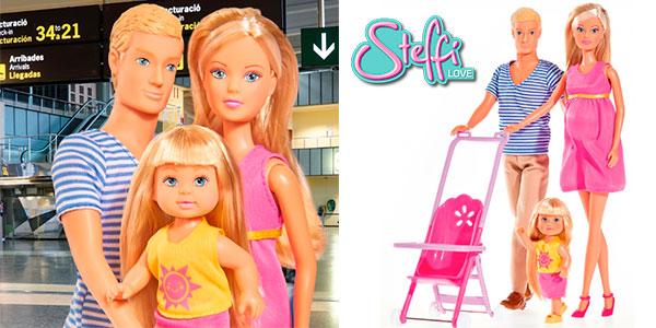 Chollo Set Familia feliz de Steffi Love con 3 figuras