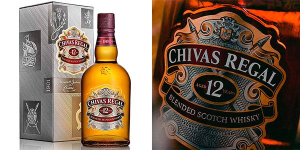 Chollo Whisky Chivas Regal 12 Años de 700 ml