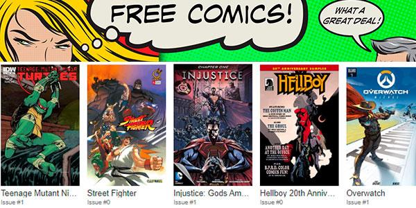 Cientos de cómics gratis en Comixology