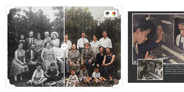 Coloreado de fotos antiguas gratis con MyHeritage In Color