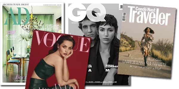 Condé Nast revistas de abril gratis