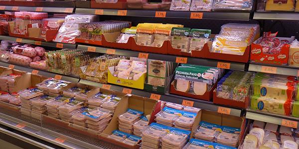 Comprar productos envasados durante el coronavirus