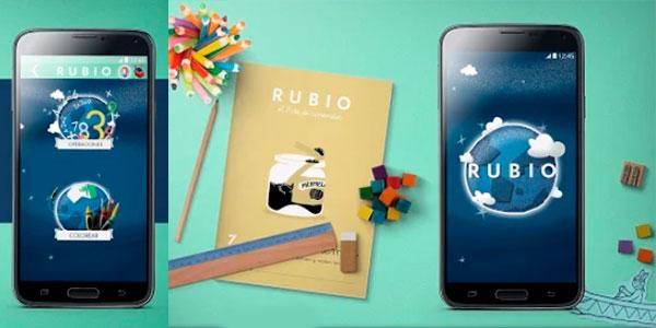 Cuadernos Rubio de repaso para móvil y tablet