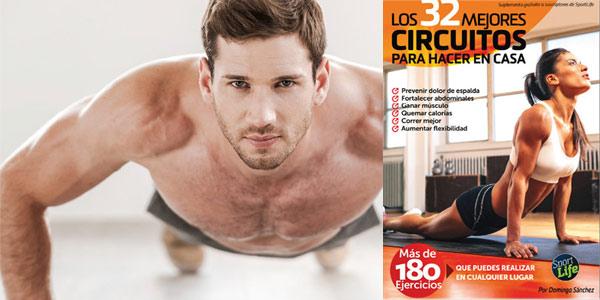 """Descarga gratis la Guía """"32 circuitos para entrenar en casa"""""""