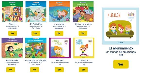 Editorial Salvat ofrece libros infantiles gratis