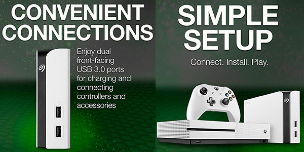 Disco duro externo Seagate Game Drive Hub de 8 TB para Xbox barato