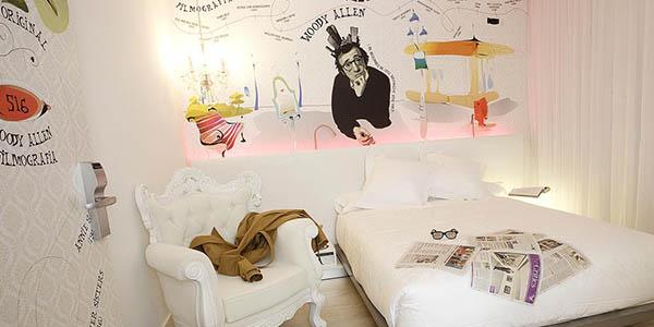 Dormirdcine hotel con temática de cine en Madrid económico