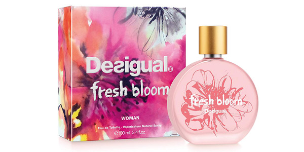 Eau de toilette Desigual Fresh Bloom de 100 ml barata en Amazon