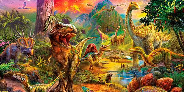 Puzle Tierra de Dinosaurios de 1.000 piezas barato