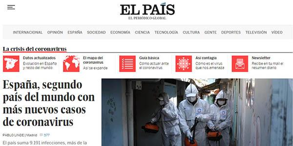 El País digital gratis