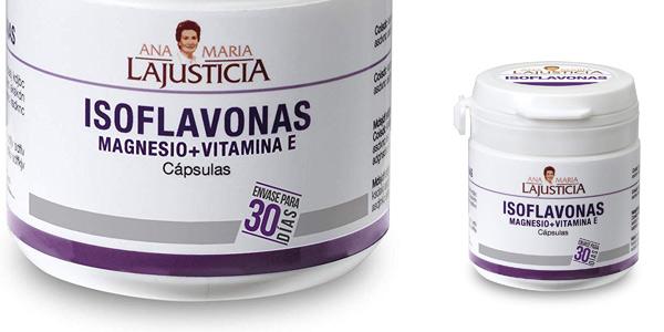 Envase 30 Cápsulas Ana Maria Lajusticia Isoflavonas con magnesio + VIT E barato en Amazon