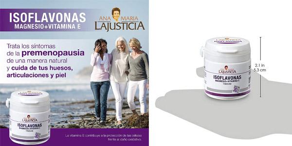 Envase 30 Cápsulas Ana Maria Lajusticia Isoflavonas con magnesio + VIT E chollo en Amazon