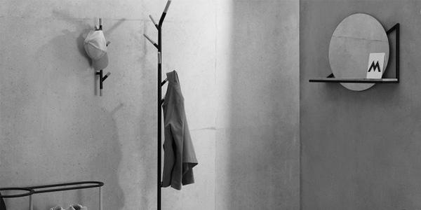 Espejo de pared con estante Huldra chollazo en Made