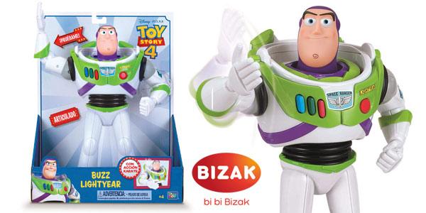 Figura Toy Story Buzz Lightyear de 30 cm con Acción Karate barata en Amazon
