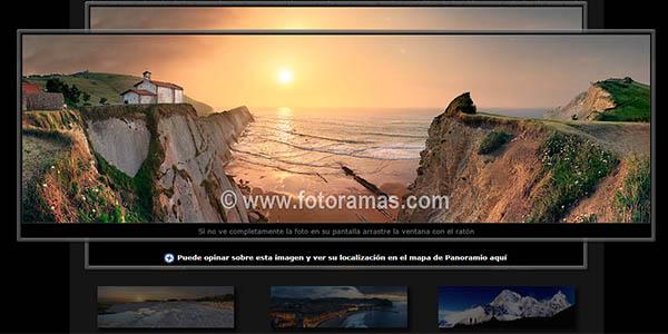 Fotoramas panorámicas de Euskadi gratis
