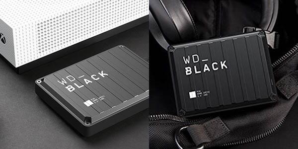 Disco portátil WD Black P10 Game Drive de 5 TB barato