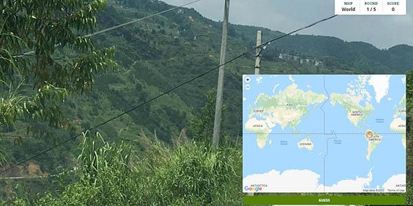 GeoGuessr juego online gratis mapas imágenes del mundo