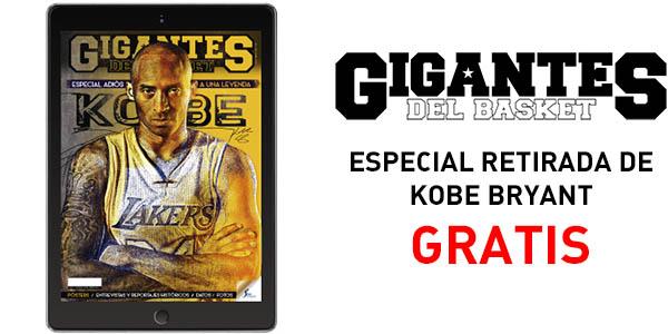 Revista GIGANTES Especial Kobe Bryant GRATIS