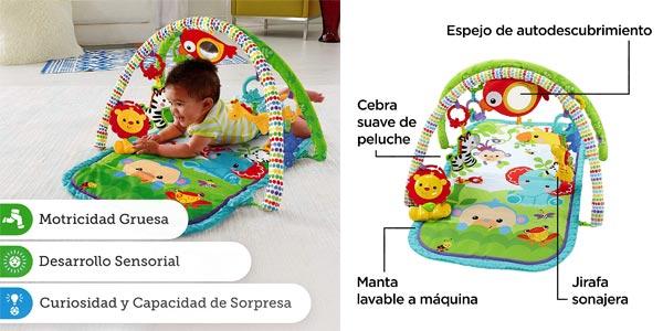 Gimnasio musical Fisher-Price Animalitos de la selva (Mattel CHP85) chollo en Amazon