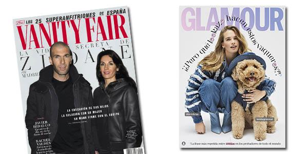 Glamour, Traveler, AD, Vogue revistas de abril Conde Nast Quedateenecasa