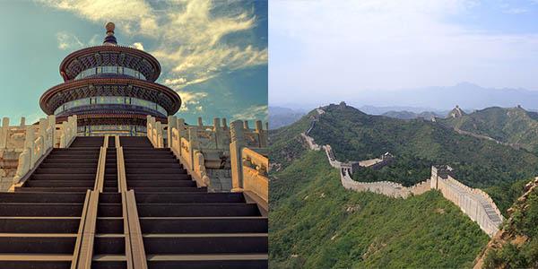 Gran Muralla China escenario película Mulan Disney