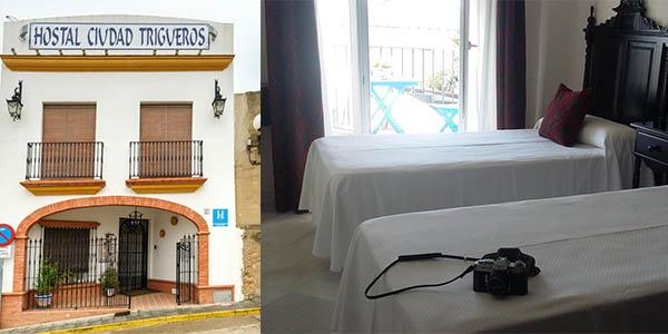 Hostal Ciudad Trigueros alojamiento barato cerca de Niebla Huelva