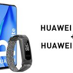 Huawei P40 Lite + Auriculares inalámbricos Huawei Band 4e