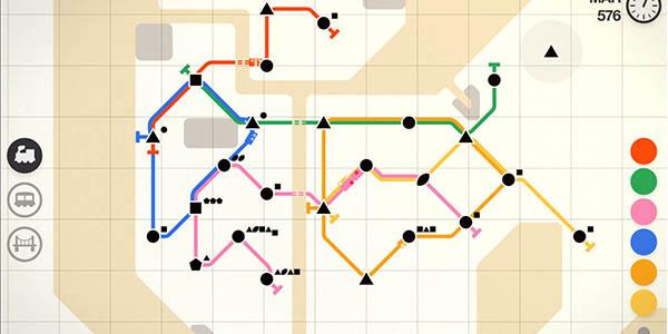 juego MiniMetro App gratis