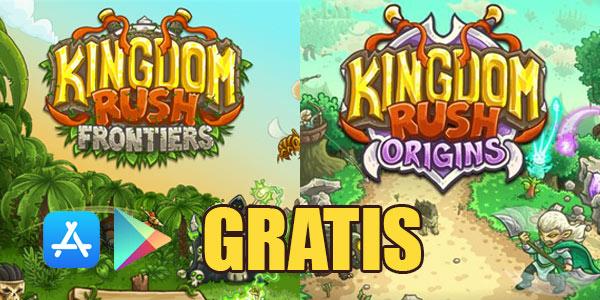 Kingdom Rush Frontiers y Origins gratis