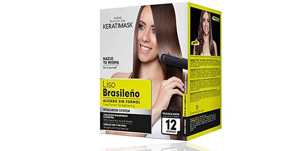 Kit Alisado Brasileño Be Natural Keratimask chollo en Amazon