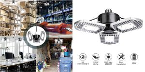 Lámpara LED de Techo de 60W y 6000 lúmenes barata en Amazon