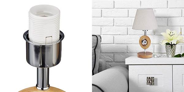 lámpara de sobremesa Relaxdays de diseño decorativo oferta
