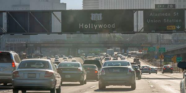 Los Ángeles Estados Unidos ciudad con cultura del automóvil