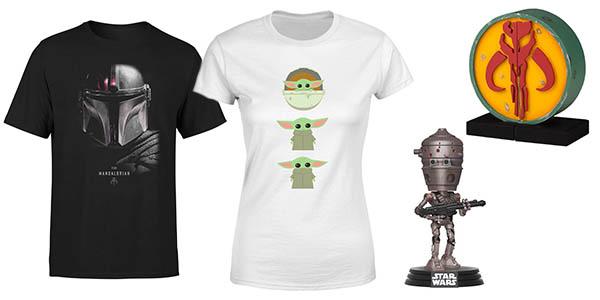 Mandelorian camisetas, funkos y figuras a precio de chollo en Zavvi