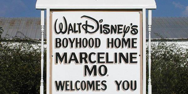 Marceline Missouri barrio de Walt Disney inspiración película La Dama y el Vagabundo
