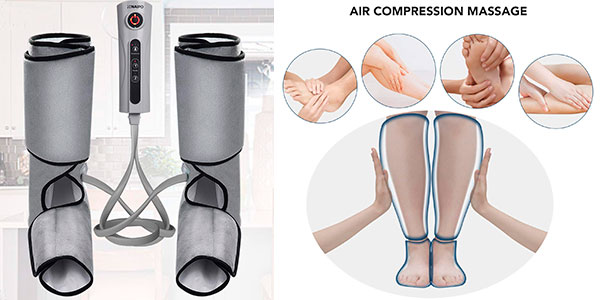 Masajeador de piernas y pies Naipo con compresión de aire barato